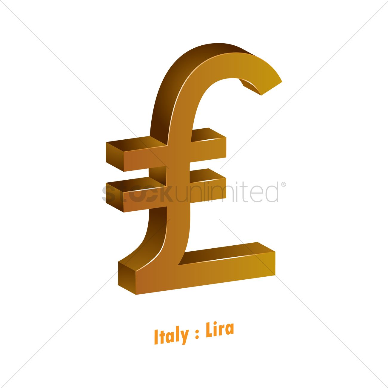 Lira Currency Symbol Vector Image 1821585 Stockunlimited