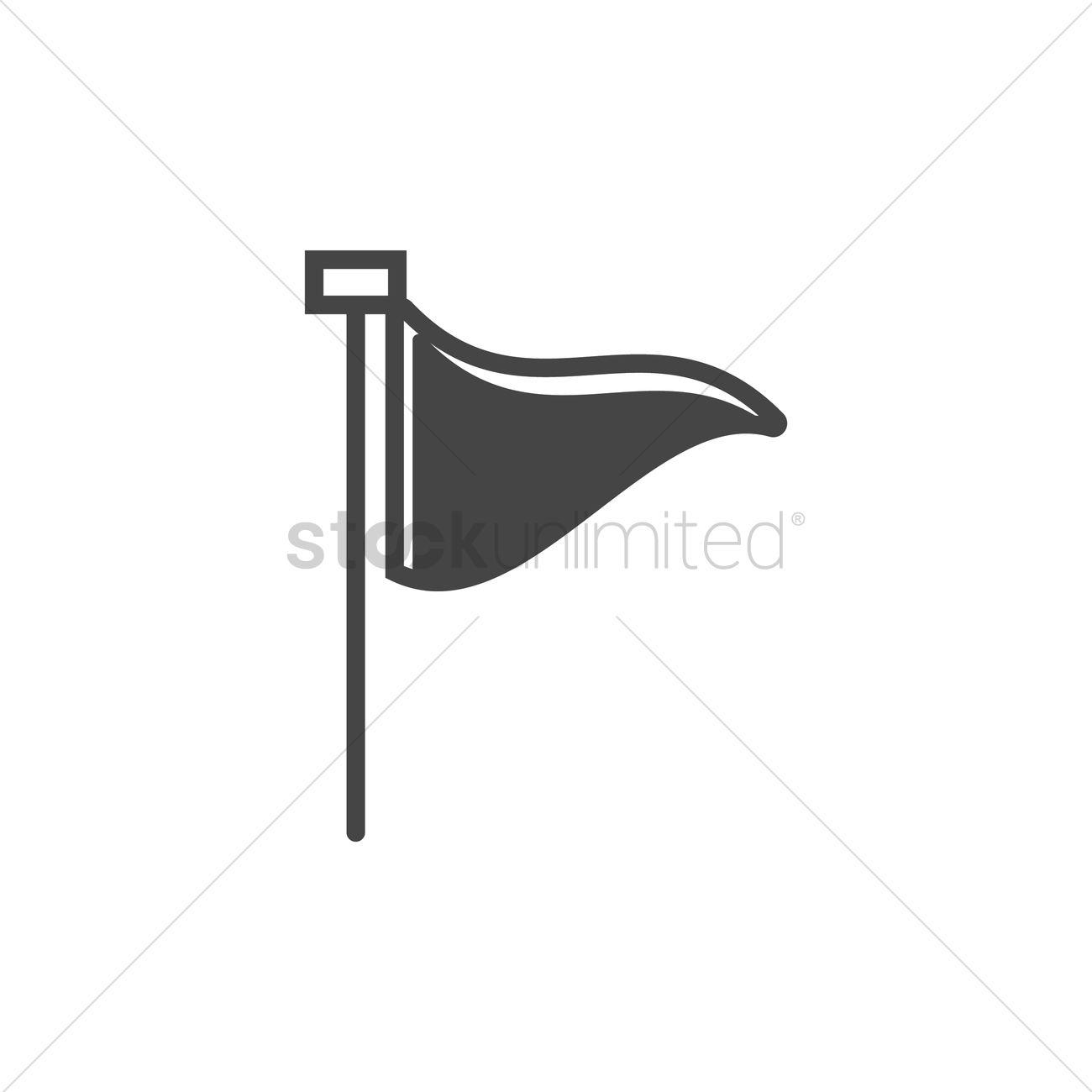 location flag symbol vector image 2028005 stockunlimited