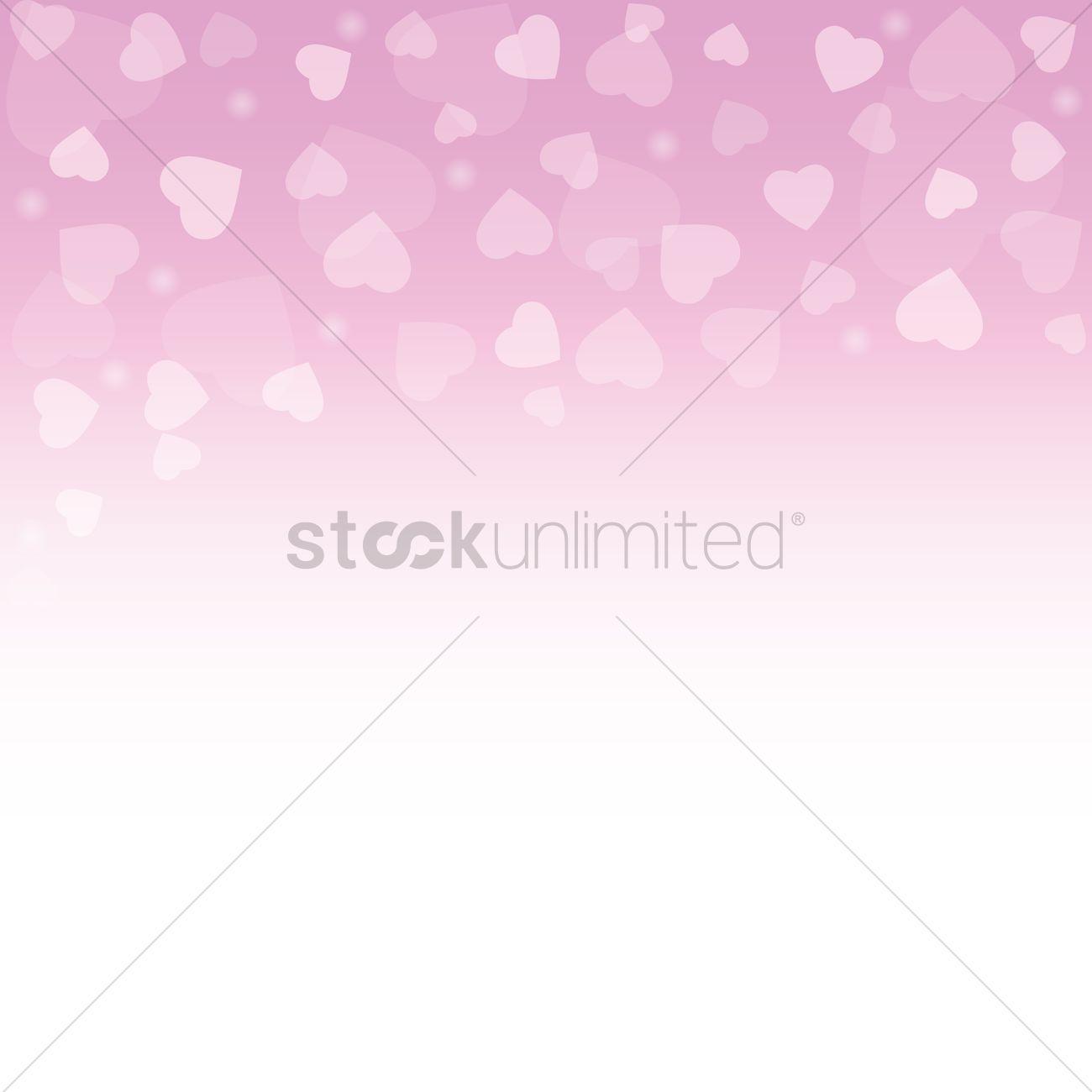 Love Wallpaper Vector Image 1713145 Stockunlimited