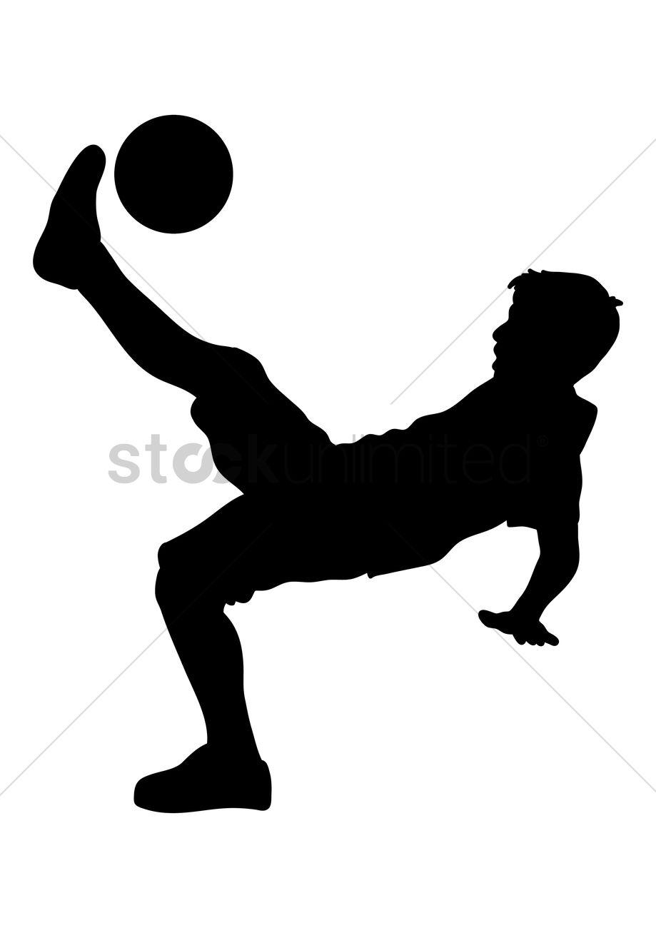 man playing football vector image 1466729 stockunlimited rh stockunlimited com football vector files football vector free