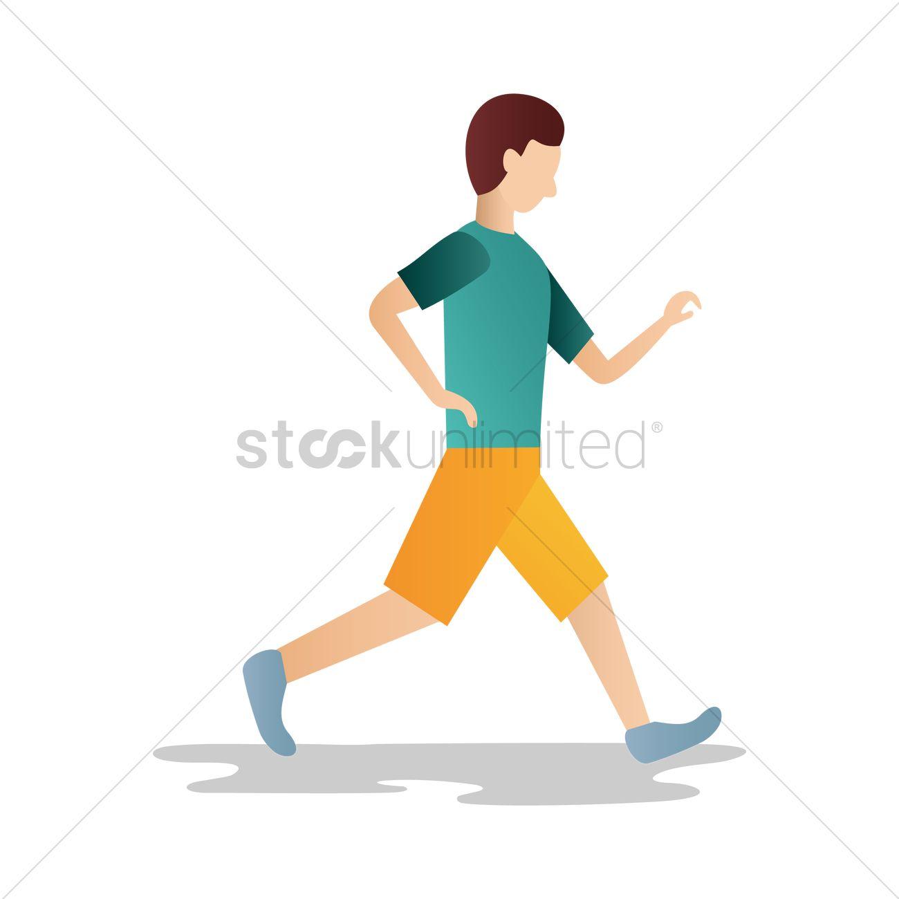 man walking vector image 1560621 stockunlimited