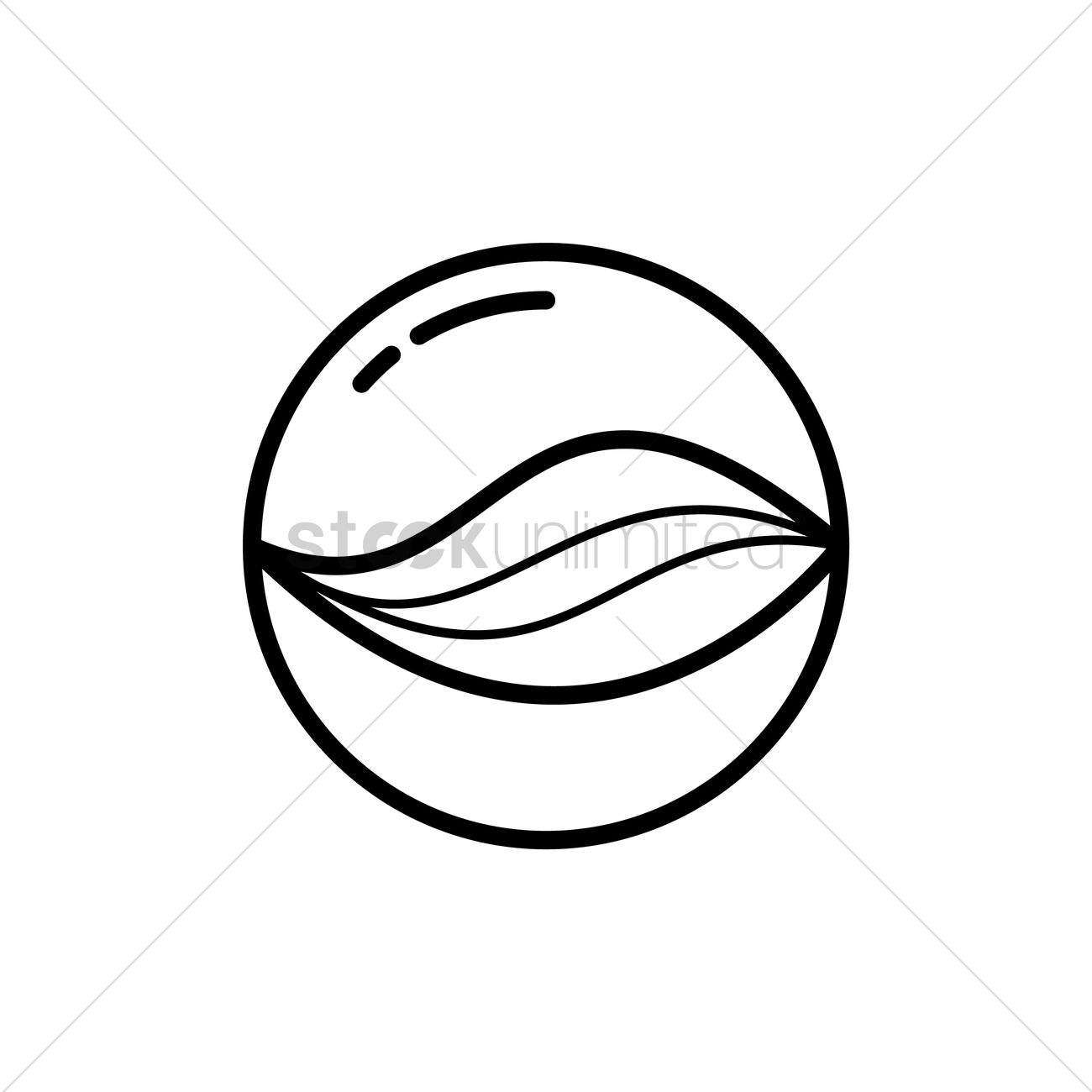 Marble ball Vector Image - 1527229 | StockUnlimited