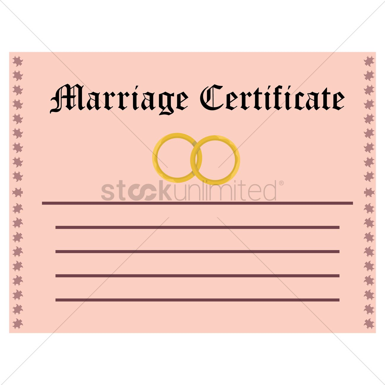Marriage certificate vector image 1335893 stockunlimited marriage certificate vector graphic 1betcityfo Gallery