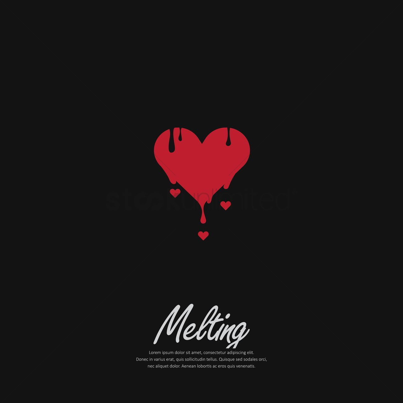 Download Png Melting Heart Tranparent Background - Corazon Derritiendose  Png, Transparent Png - kindpng