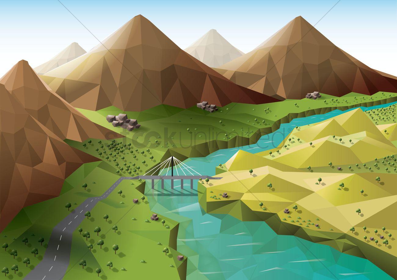 Landforms Valley Clipa...