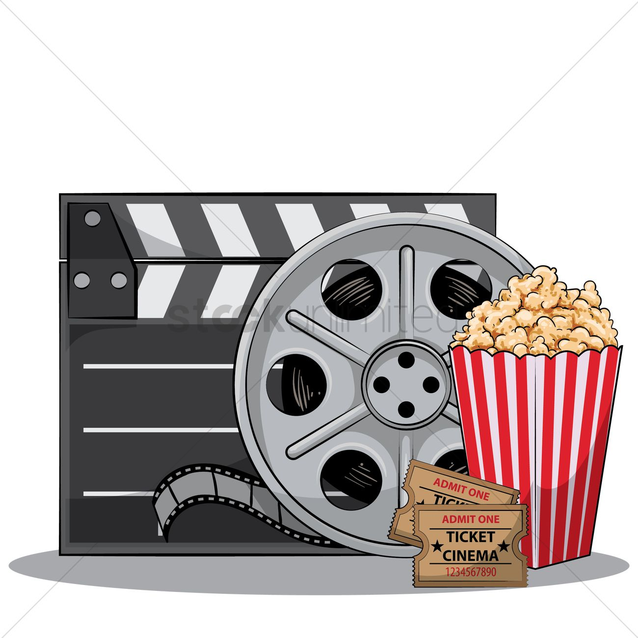 Movie Themed Clipart