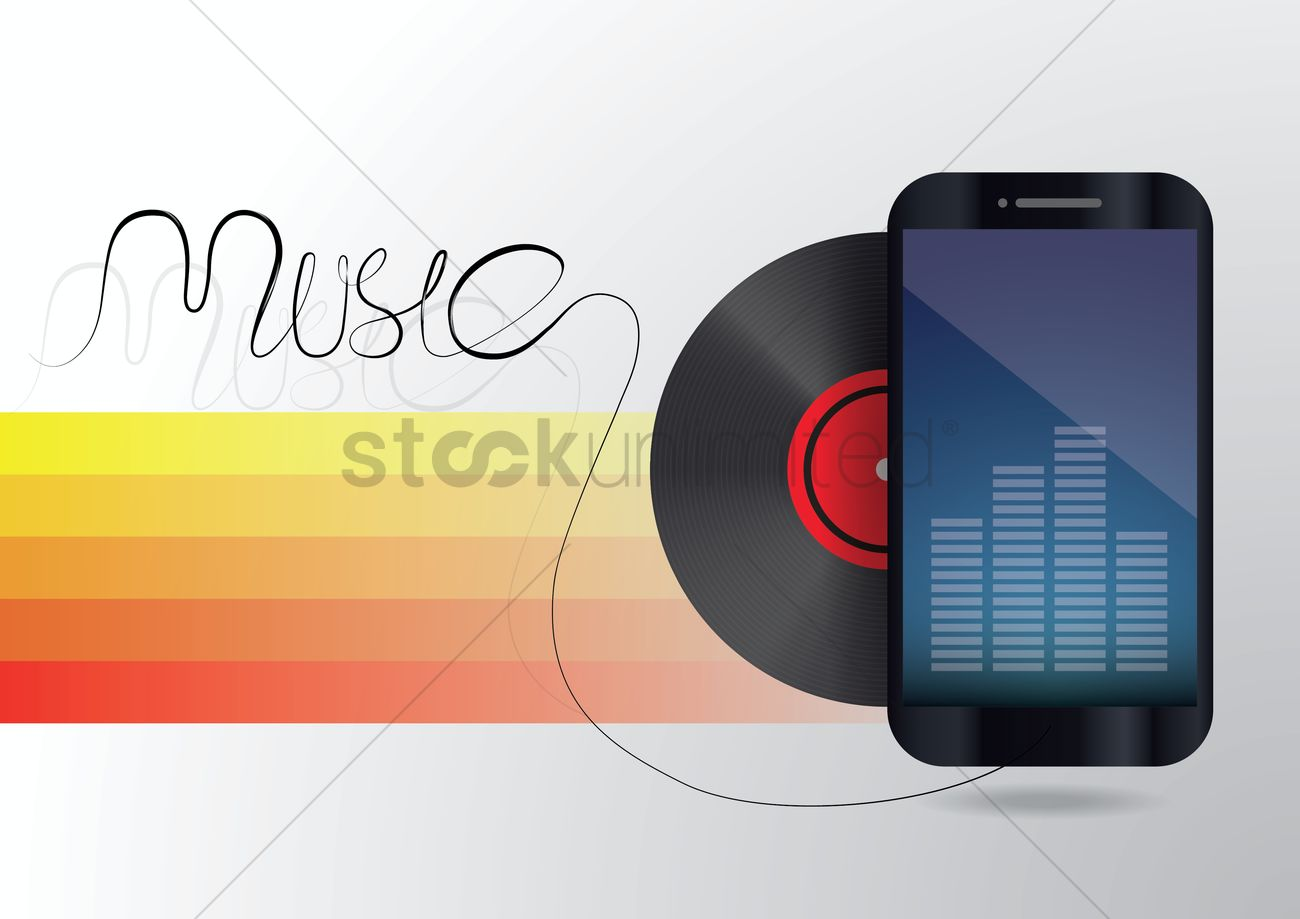 Music wallpaper vector image 1808045 stockunlimited music wallpaper vector graphic voltagebd Image collections