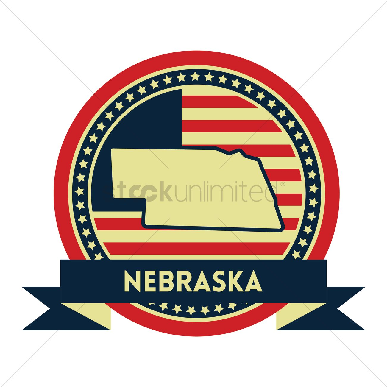 Free Nebraska Map.Free Nebraska Map Label Vector Image 1618441 Stockunlimited
