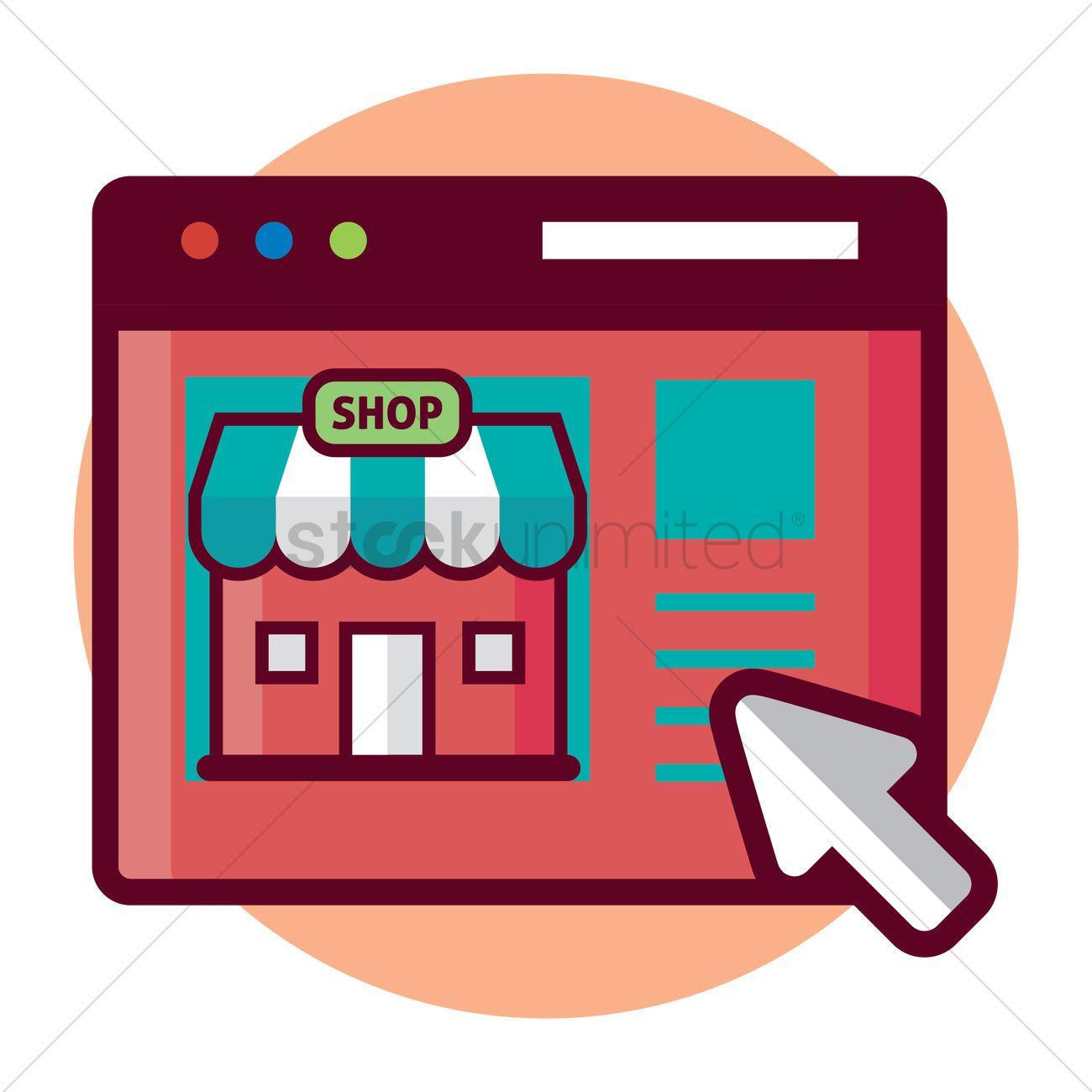 online shopping vector image 1242833 stockunlimited rh stockunlimited com shop victoria secret retro shop victoria's secret