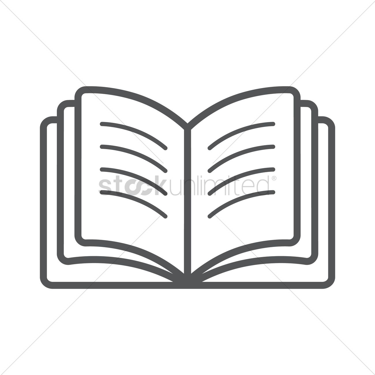 open book vector image 1577453 stockunlimited