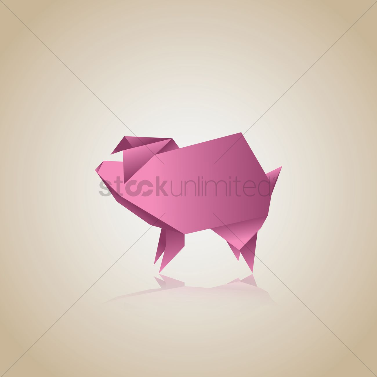 Step by step instructions how to make origami pig pigs t - photo#24