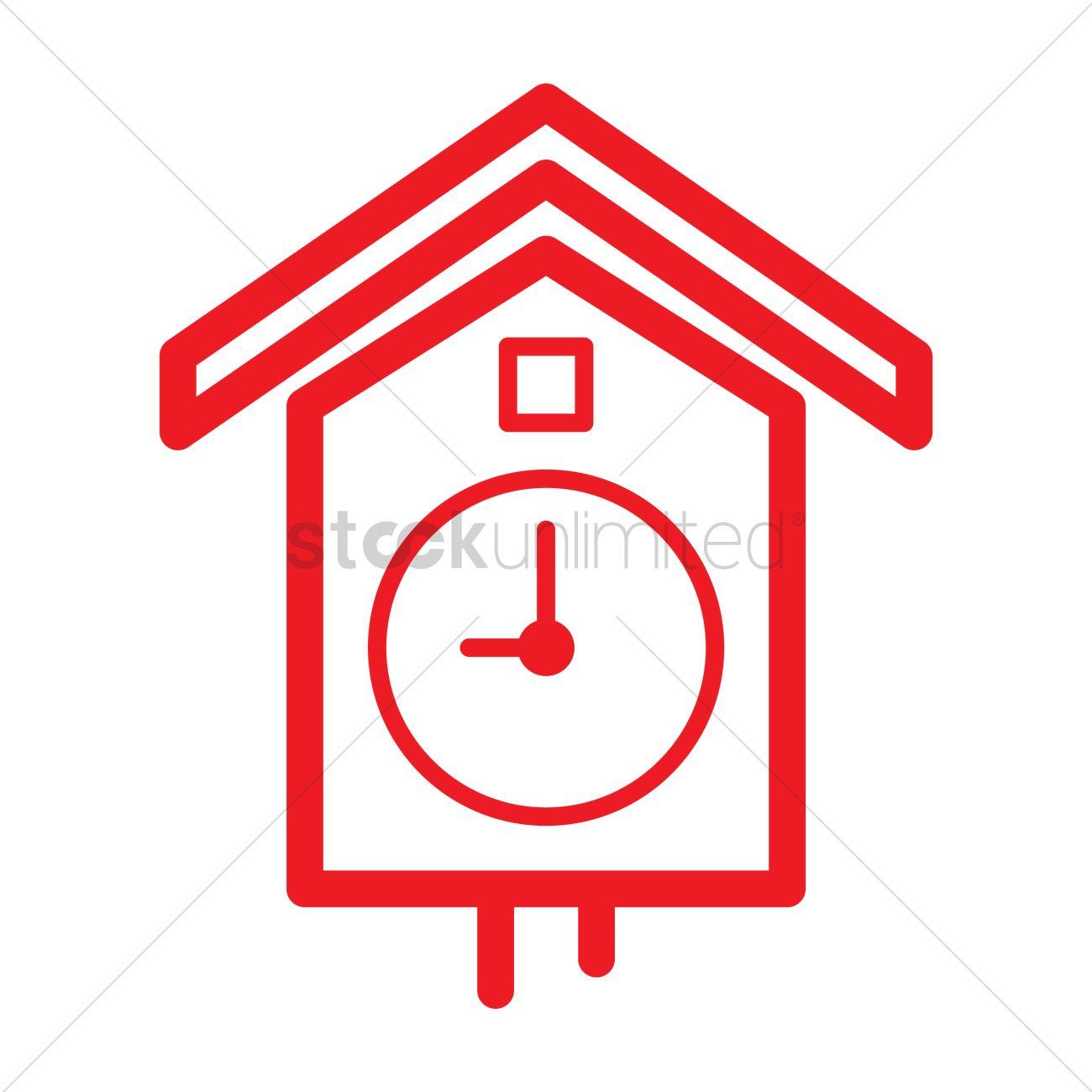 Pendulum clock icon Vector Image - 1999497 | StockUnlimited