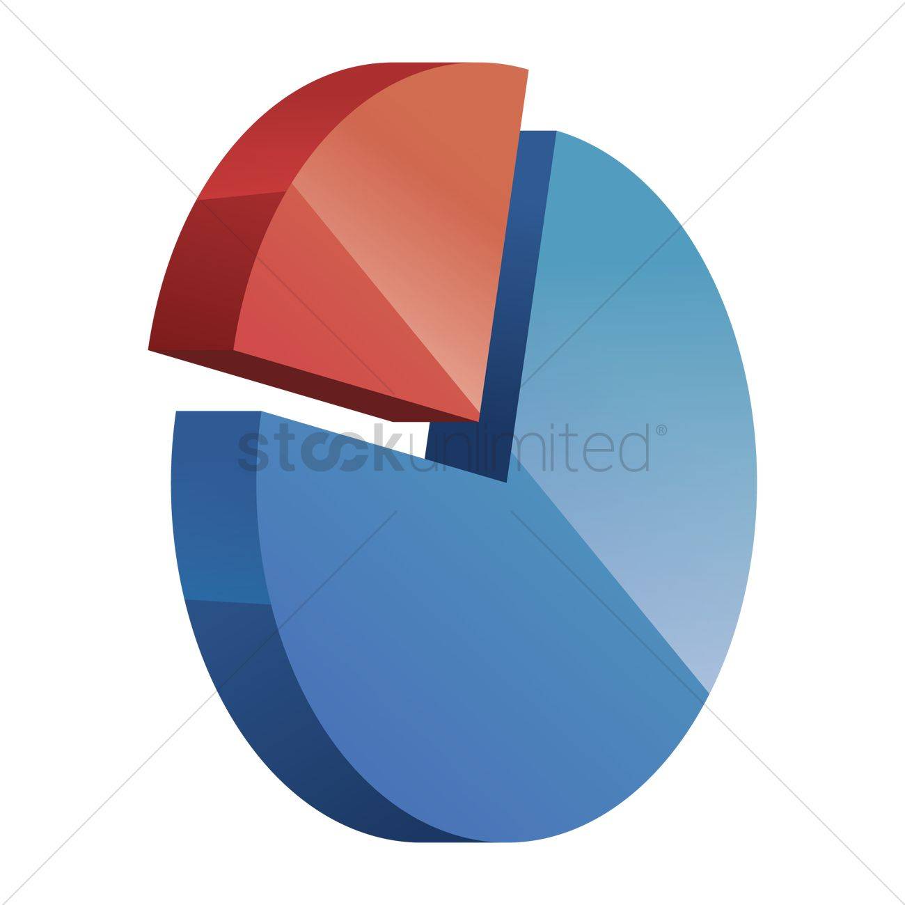 Free Pie Chart Vector Image 1284017 Stockunlimited