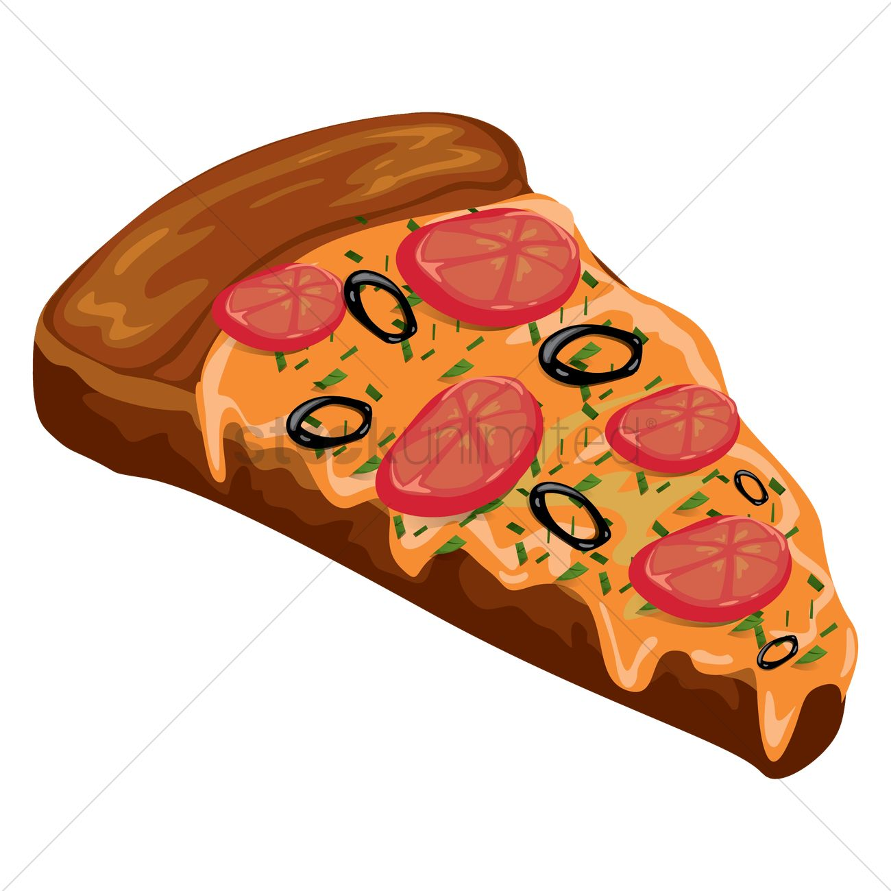 pizza slice vector image 1555861 stockunlimited rh stockunlimited com pizza slices free vector pizza slice outline vector