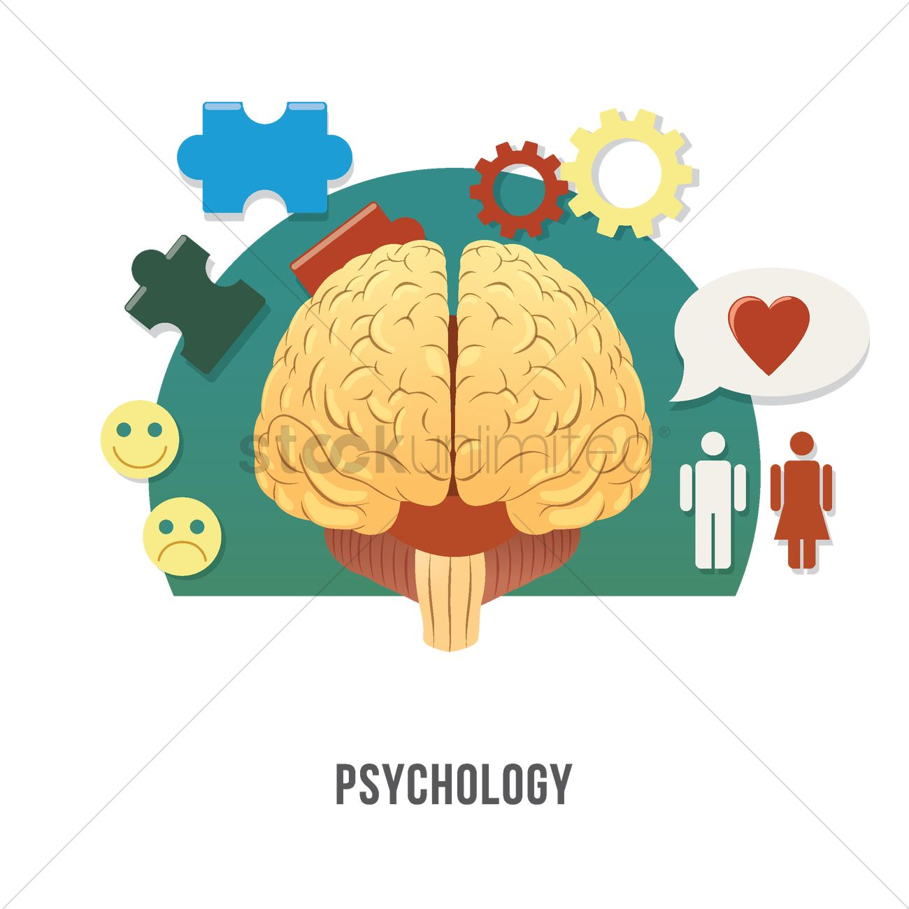 Psychology Concept Vector Image 2003909 Stockunlimited