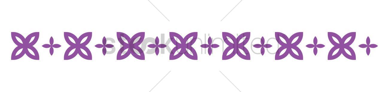 purple border design