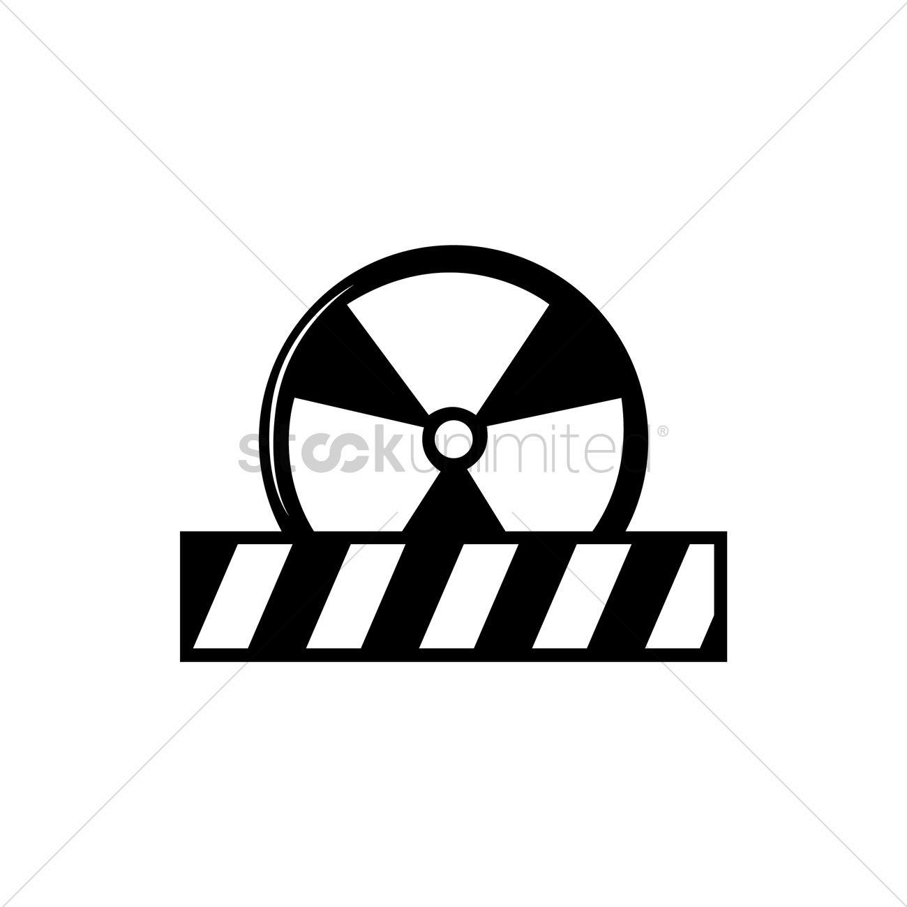 Radioactive symbol vector image 2016693 stockunlimited radioactive symbol vector graphic buycottarizona