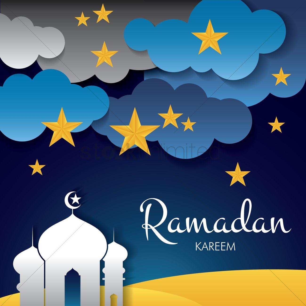 Ramadan Kareem Greeting Vector Image 1827853 Stockunlimited