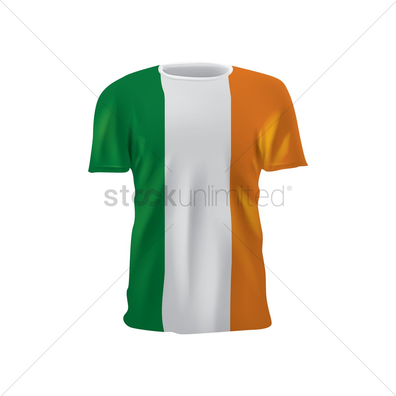more photos 91549 0d8bb Republic of ireland soccer jersey Vector Image - 1818901 ...