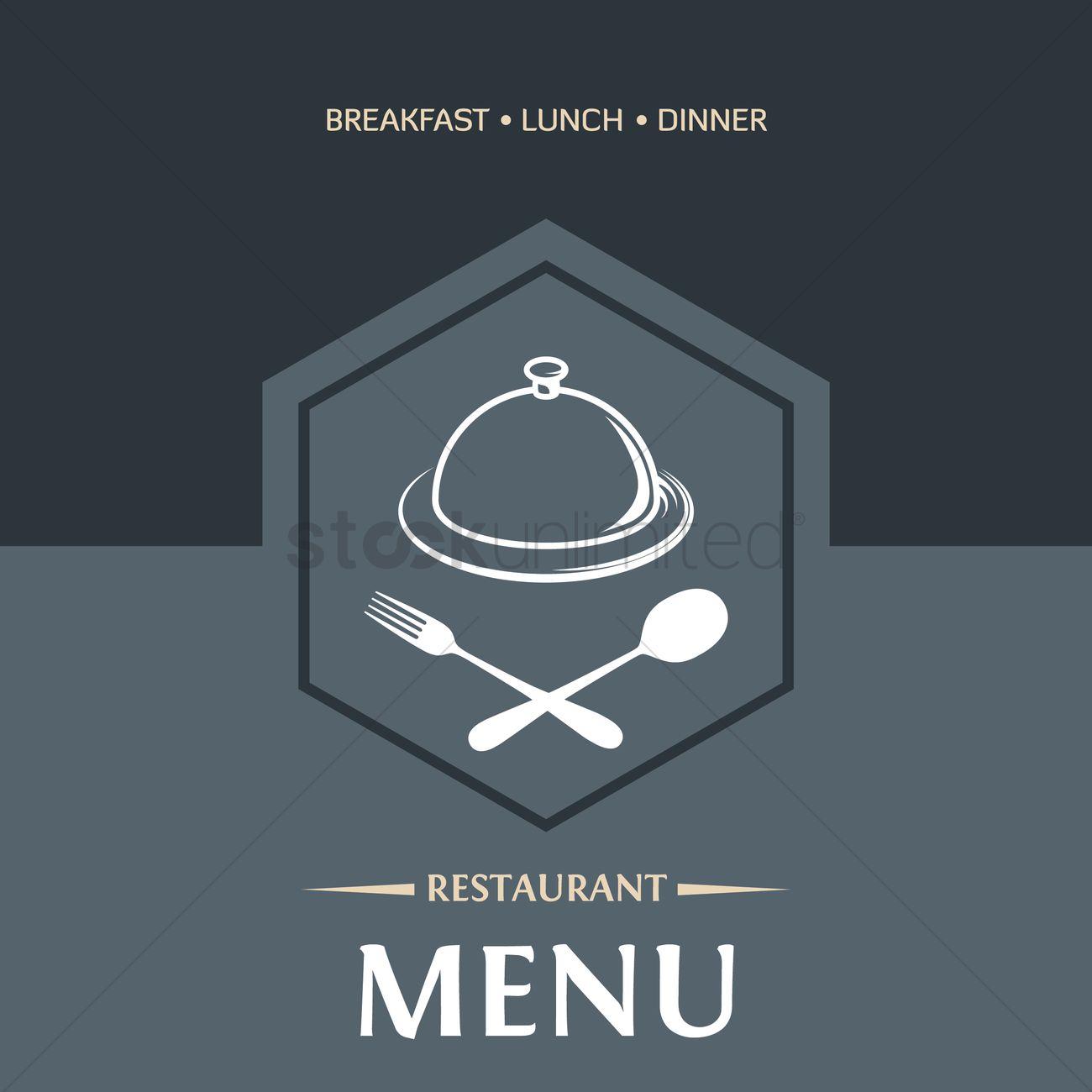 Restaurant Menu Design Vector Image 1859485 Stockunlimited