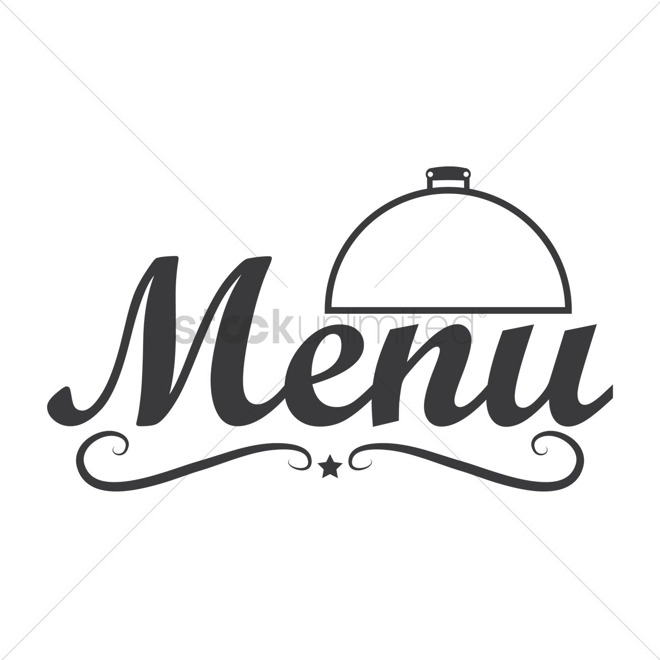 restaurant menu logo icon vector image - 1710137 | stockunlimited
