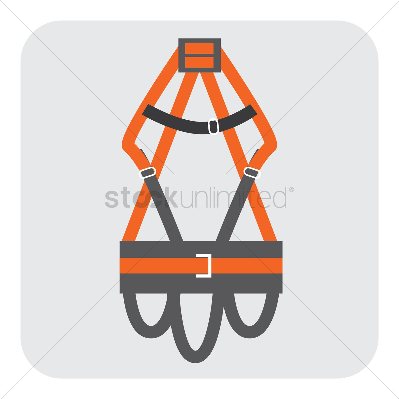 Safety Harness Vector Image 1407837 Stockunlimited Graphic