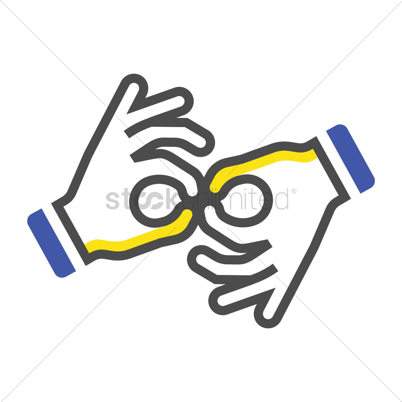 Sign Language Icon Vector Image 1956473 Stockunlimited