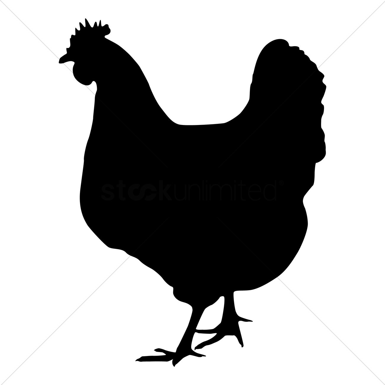 silhouette of hen vector image 1439017 stockunlimited rooster clip art free images rooster clip art cartoon free