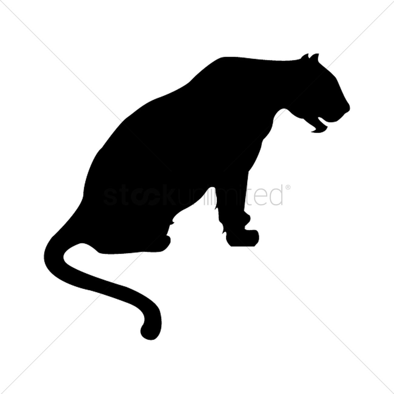 Silhouette Of Sitting Tiger Vector Image 1501677 Stockunlimited 400+ vectors, stock photos & psd files. silhouette of sitting tiger vector