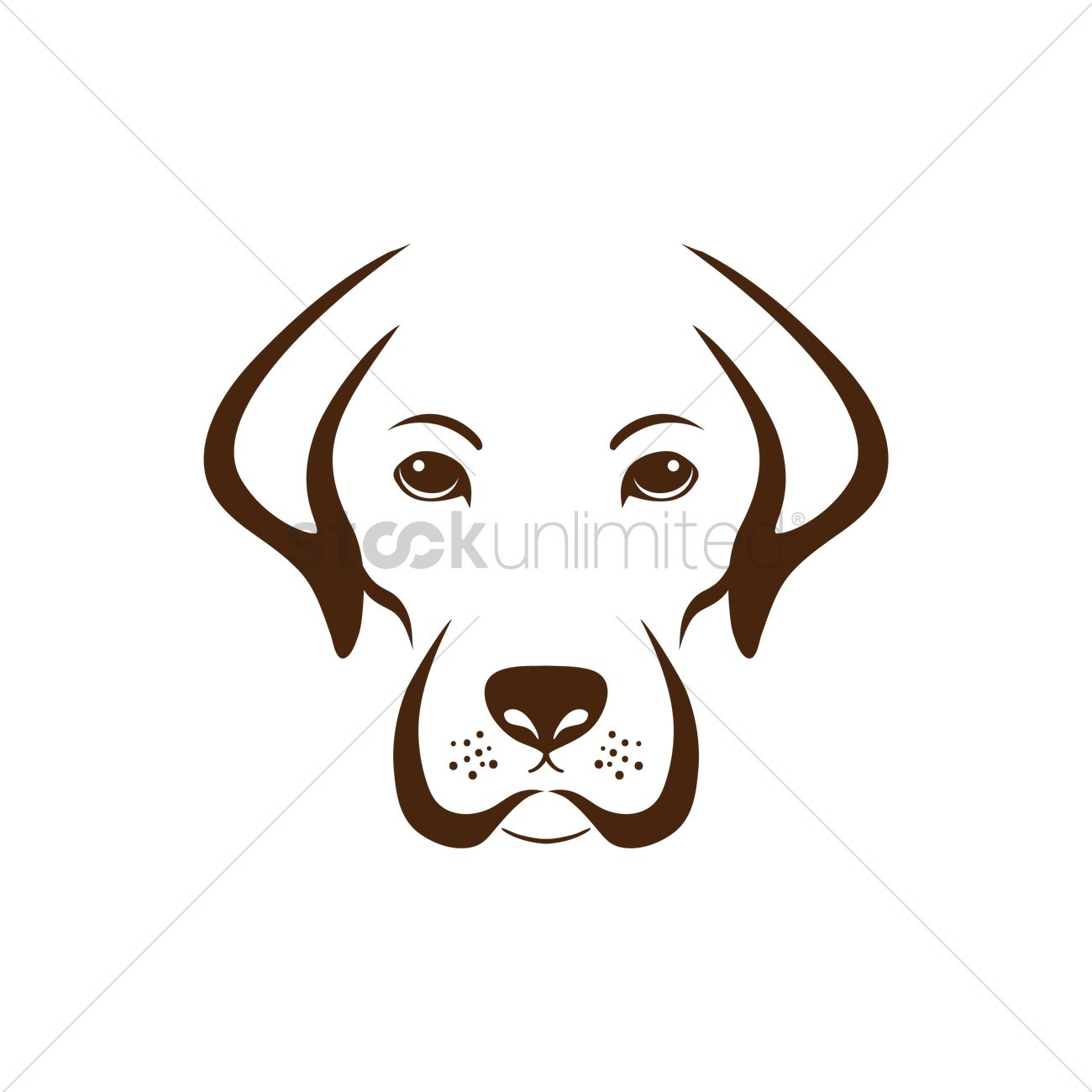 Simple dog design Vector Image - 1515557 | StockUnlimited