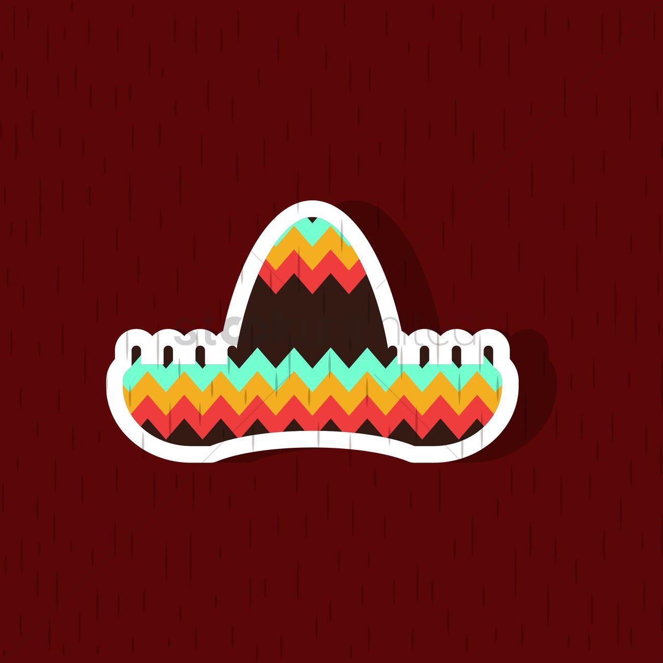 Sombrero hat Vector Image - 2015881 | StockUnlimited