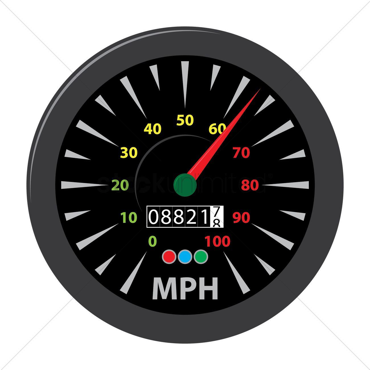 Speedometer Vector Image - 1478981   StockUnlimited