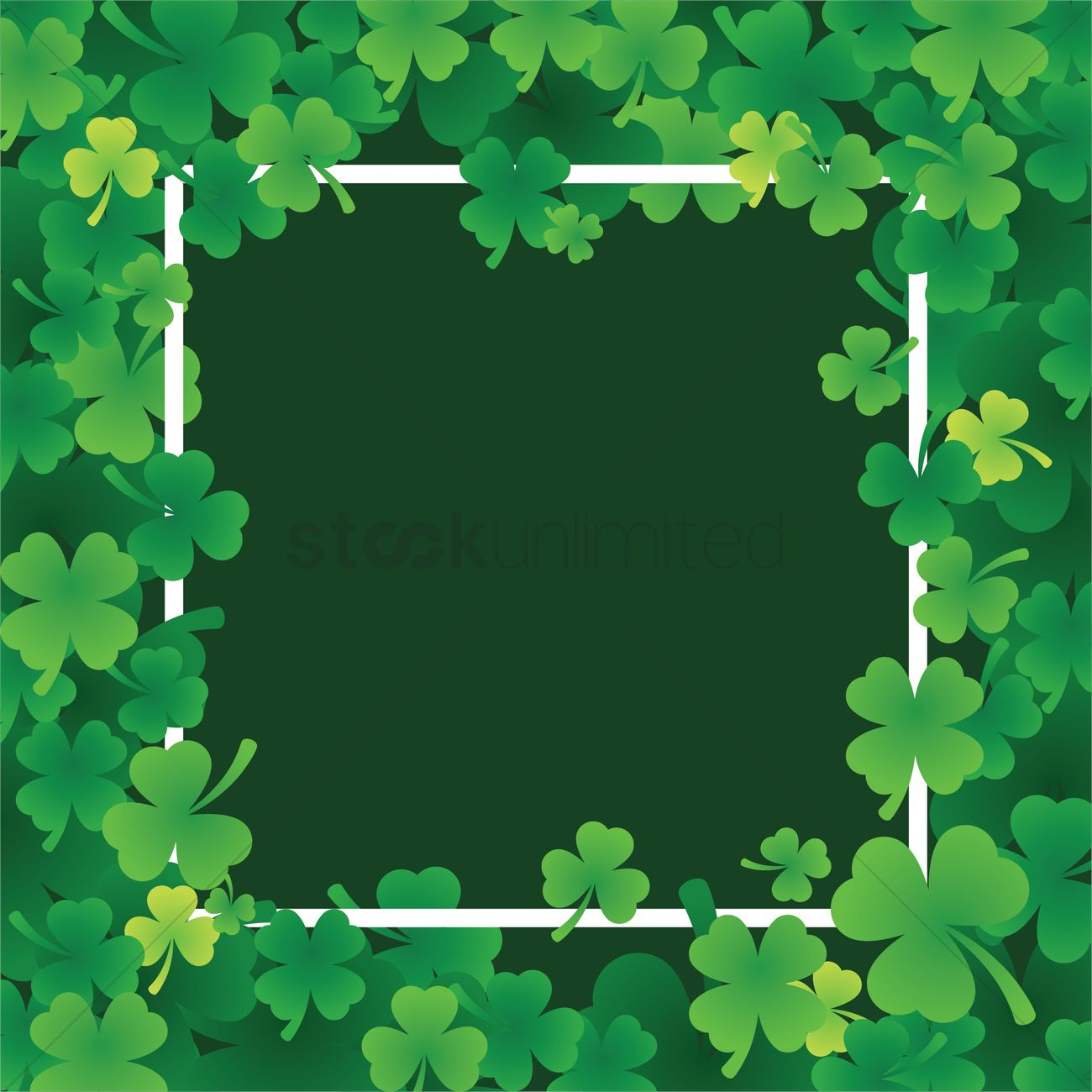 St Patricks Day Theme Background Vector Image 1991377
