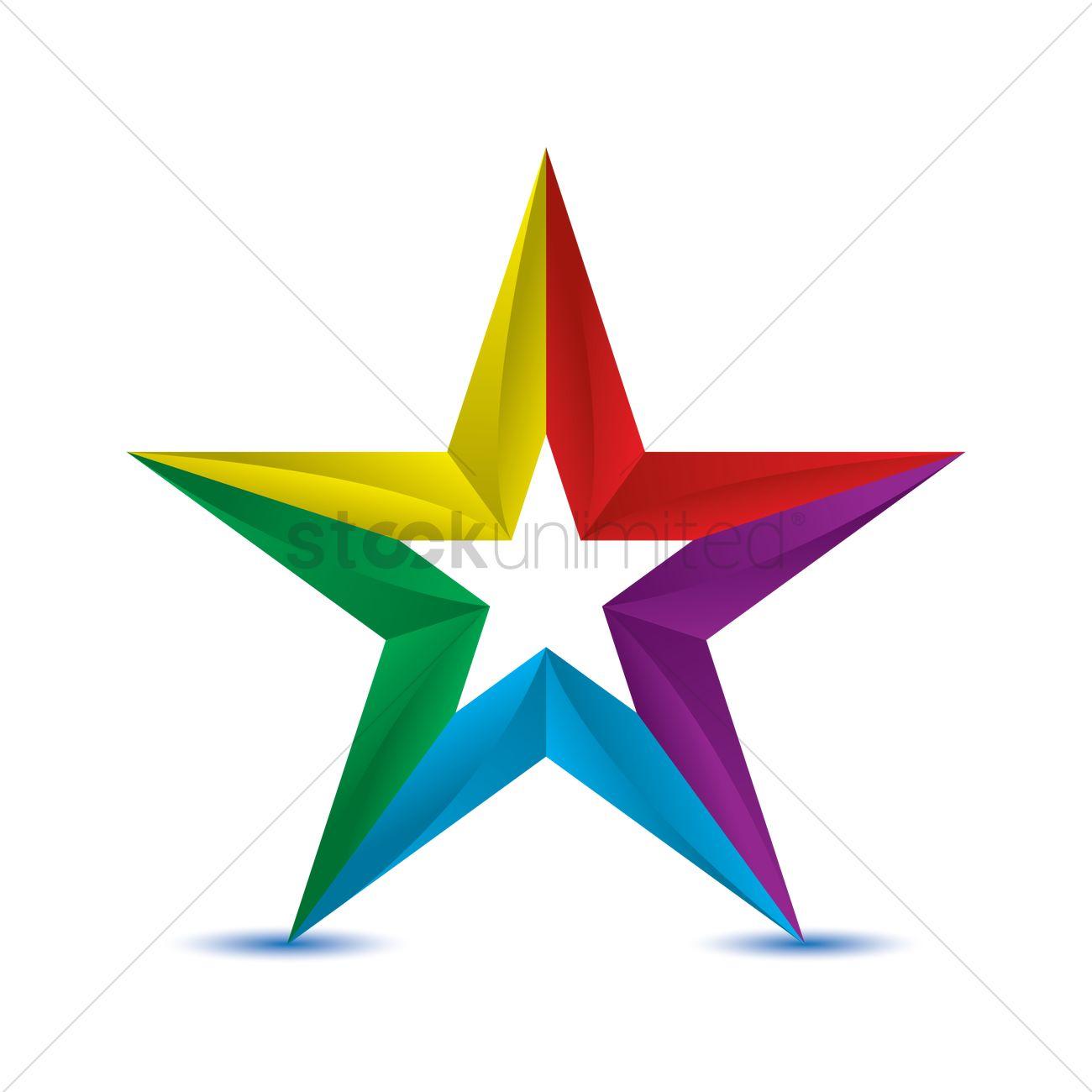 star logo element vector image 1939897 stockunlimited
