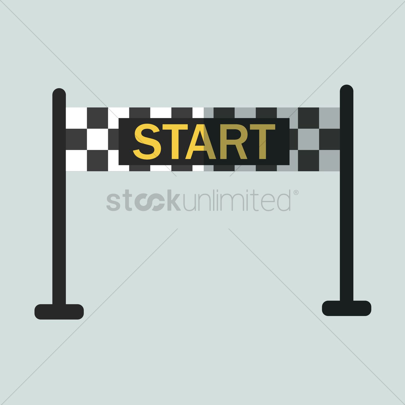 Starting line banner vector image 1431629 stockunlimited for How to start a home decor line