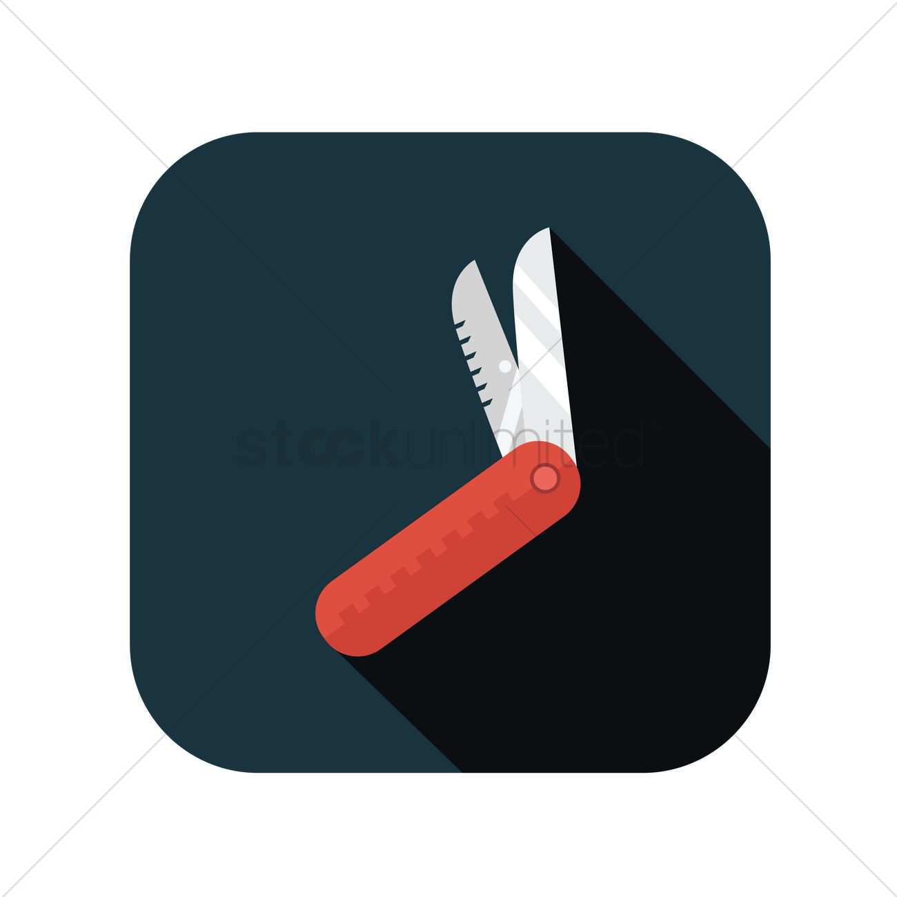 Free Swiss army knife Vector Image - 1284445 | StockUnlimited