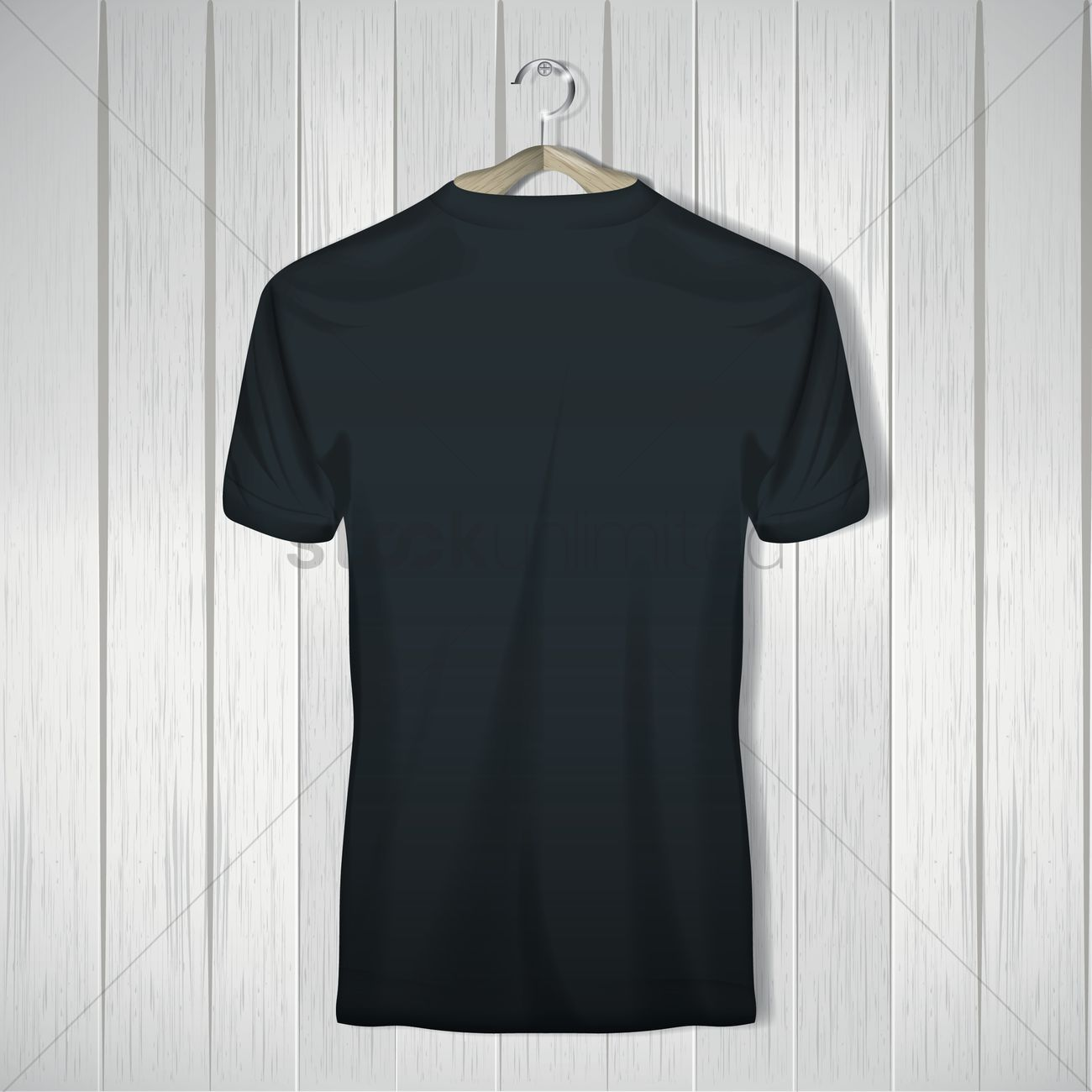 Black t shirt vector photoshop - T Shirt Vector Graphic