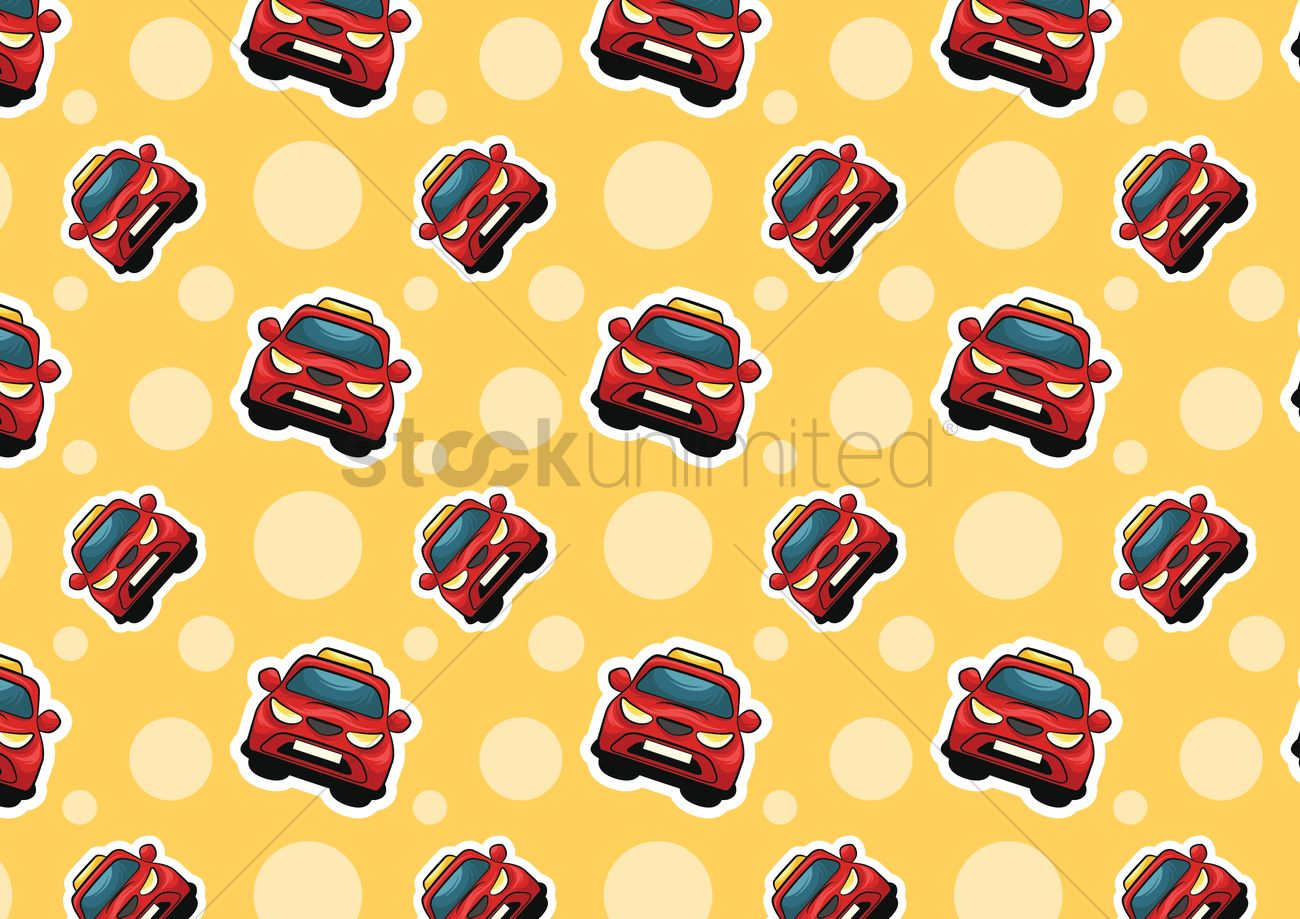 Taxi Cars Background Vector Image 1483765 Stockunlimited