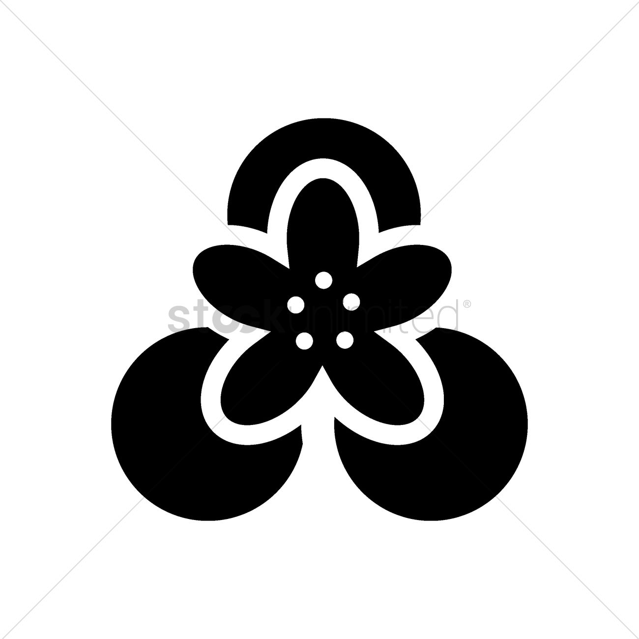 Top view of lotus flower on leaf vector image 1981097 stockunlimited top view of lotus flower on leaf vector graphic izmirmasajfo