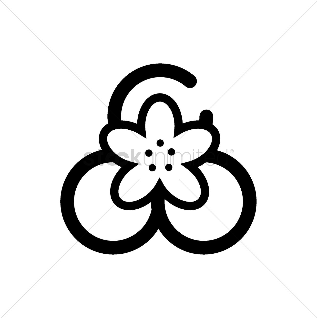 Top view of lotus flower on leaf vector image 1981313 stockunlimited top view of lotus flower on leaf vector graphic izmirmasajfo