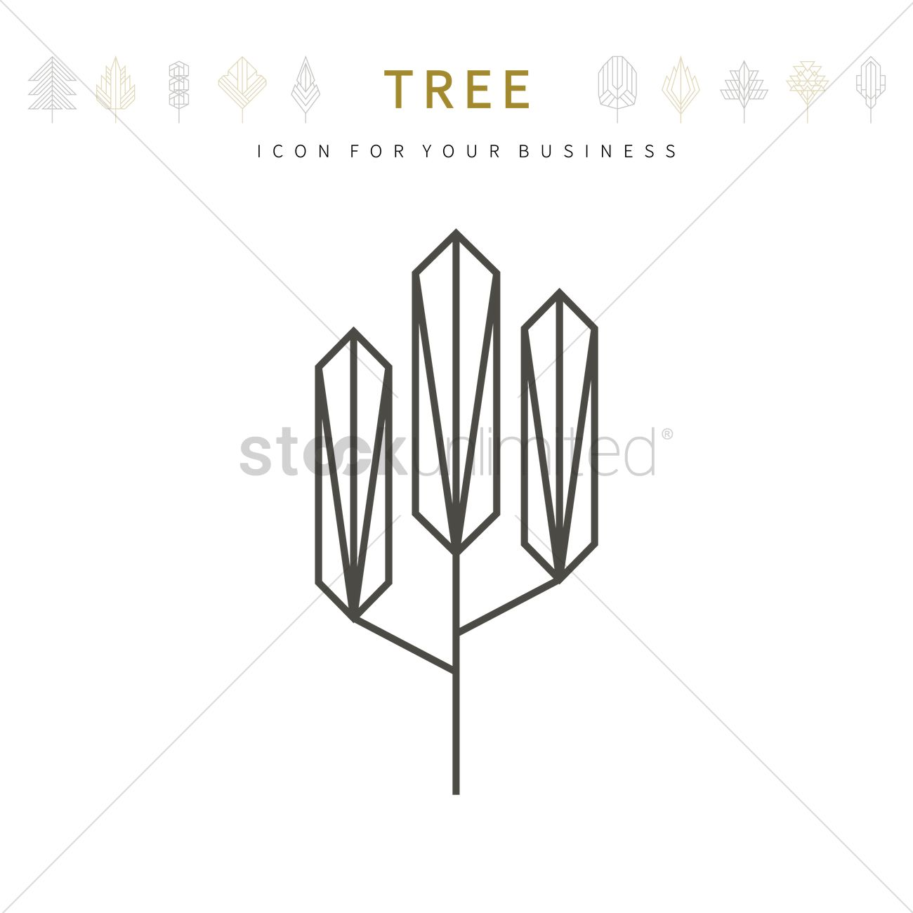 Tree template design vector image 1979905 stockunlimited tree template design vector graphic friedricerecipe Choice Image