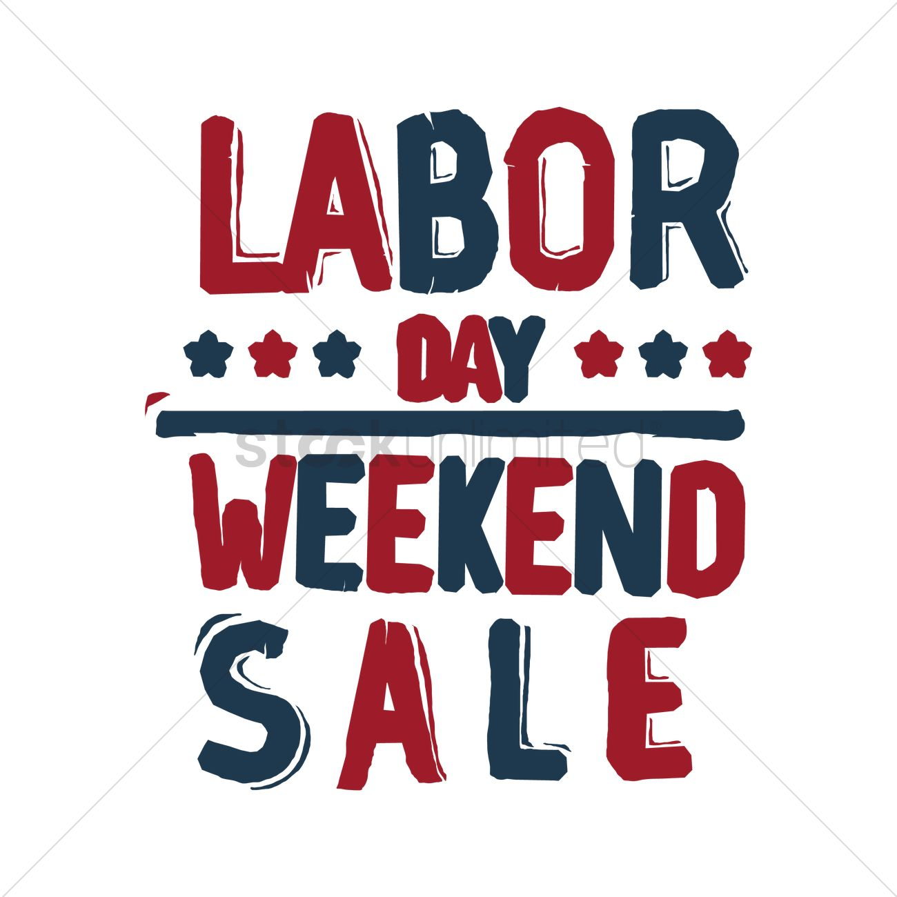 Labor Day Weekend Sale: Us Labor Day Sale Vector Image - 1557957