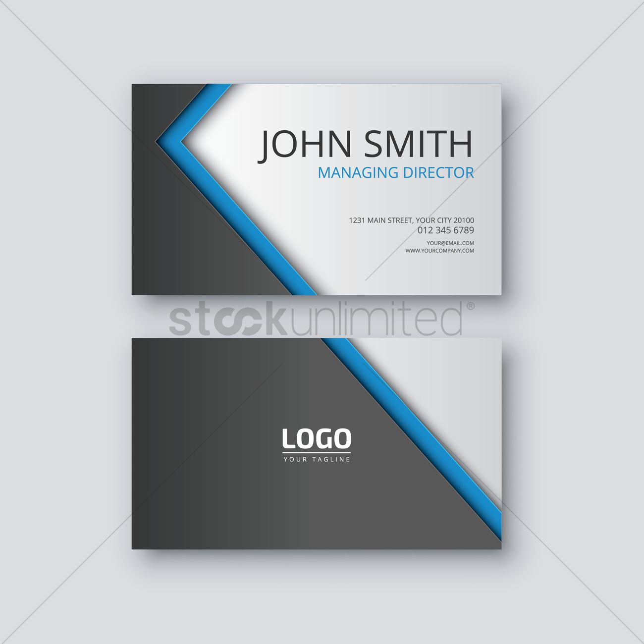 Visiting card vector image 1823277 stockunlimited visiting card vector graphic colourmoves Choice Image