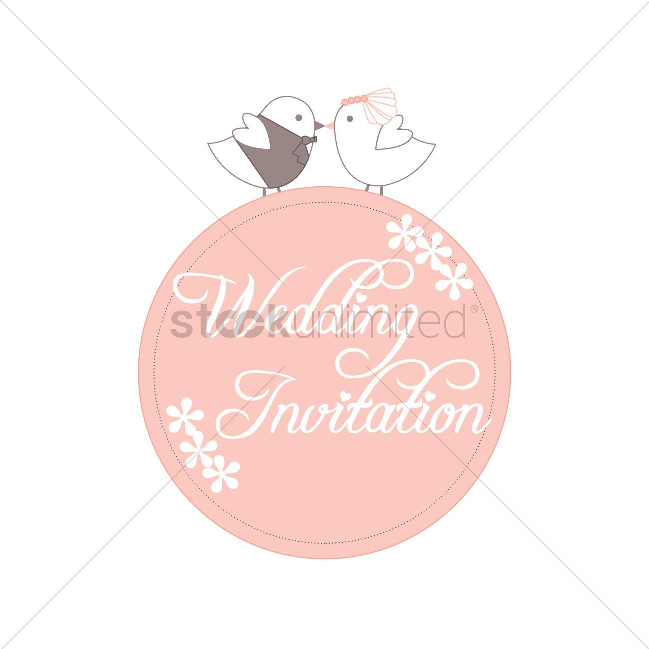Wedding invitation label vector image 1789337 stockunlimited wedding invitation label vector graphic stopboris Images