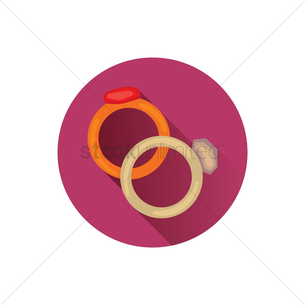 Free Wedding rings Vector Image - 1240665 | StockUnlimited