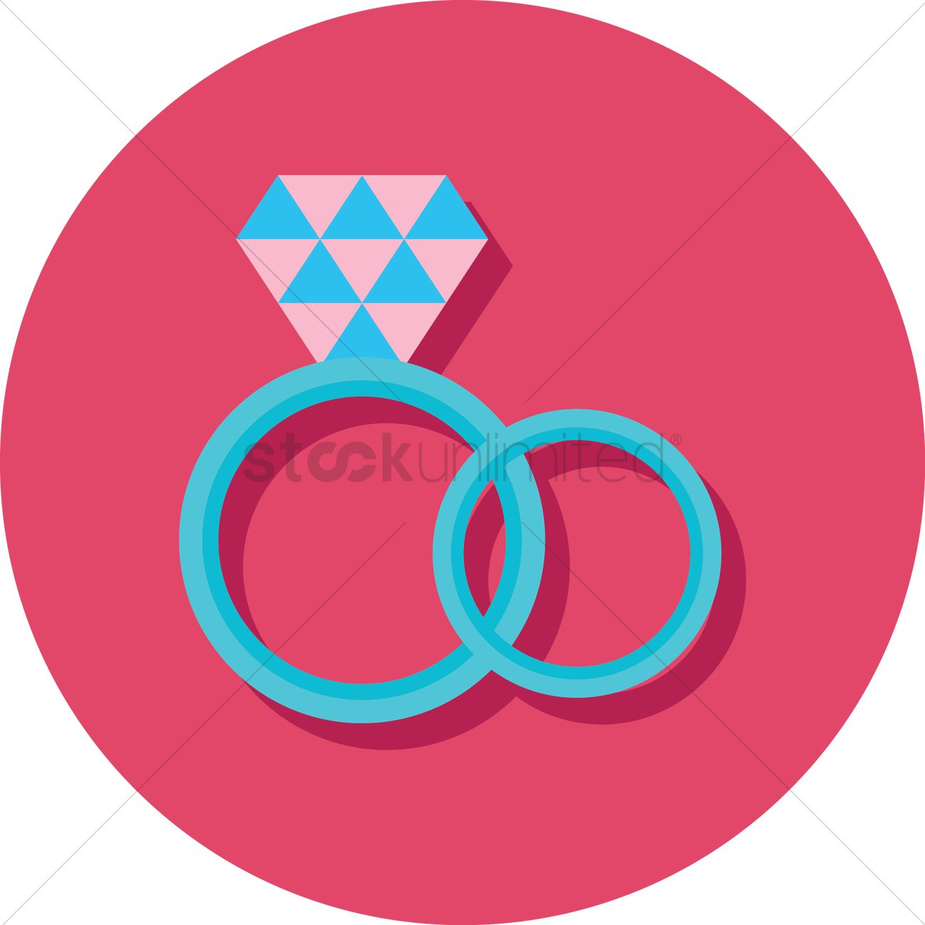 Wedding rings Vector Image - 1327093 | StockUnlimited
