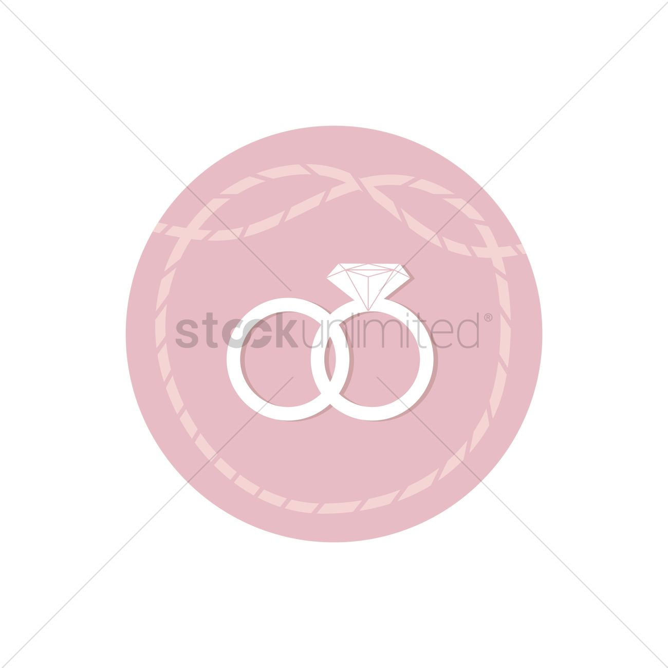 Wedding rings Vector Image - 1333089 | StockUnlimited