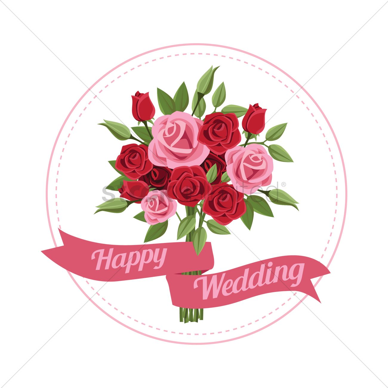 Wedding template design Vector Image - 1986053 | StockUnlimited