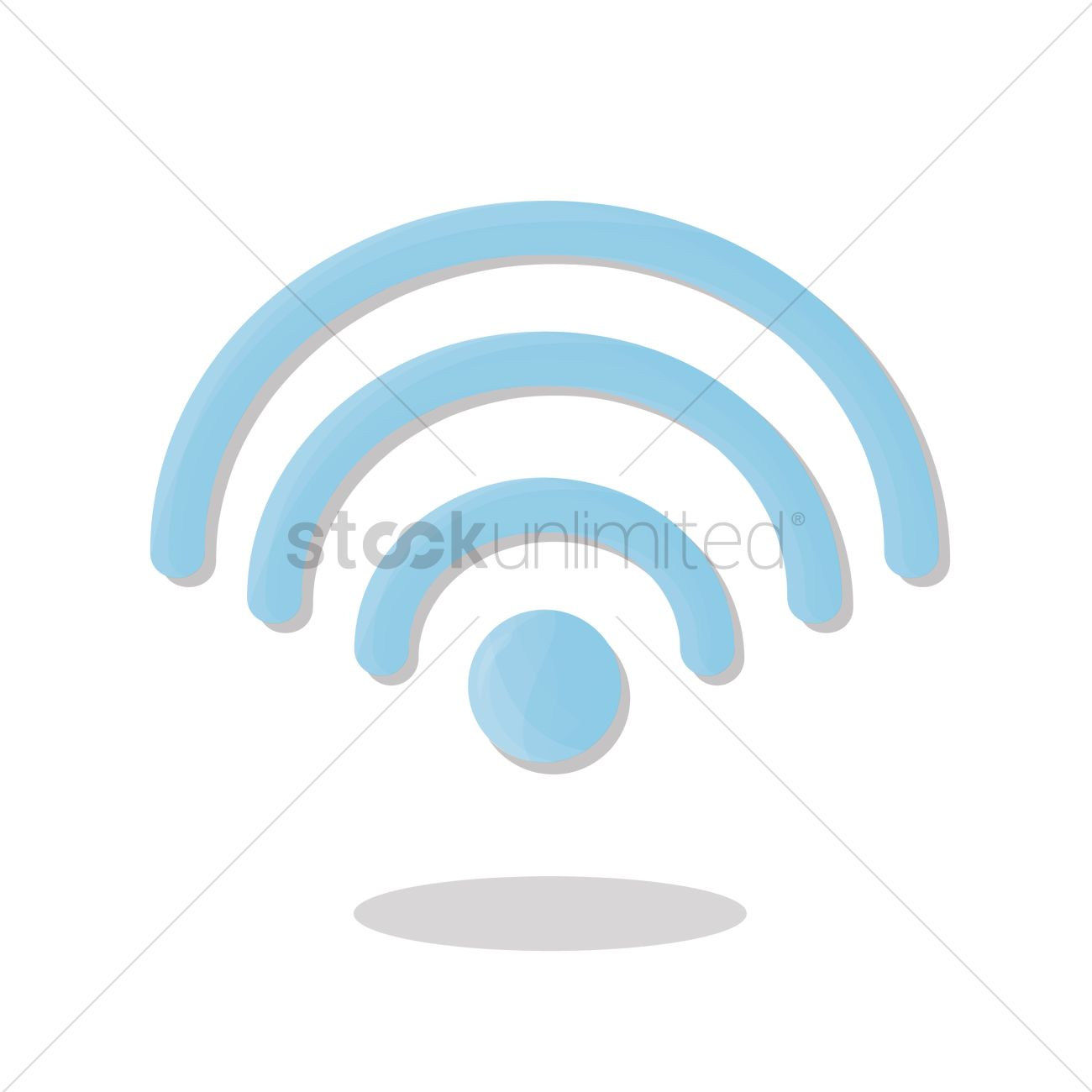 Wireless Network Symbol Vector Image 1252409 Stockunlimited