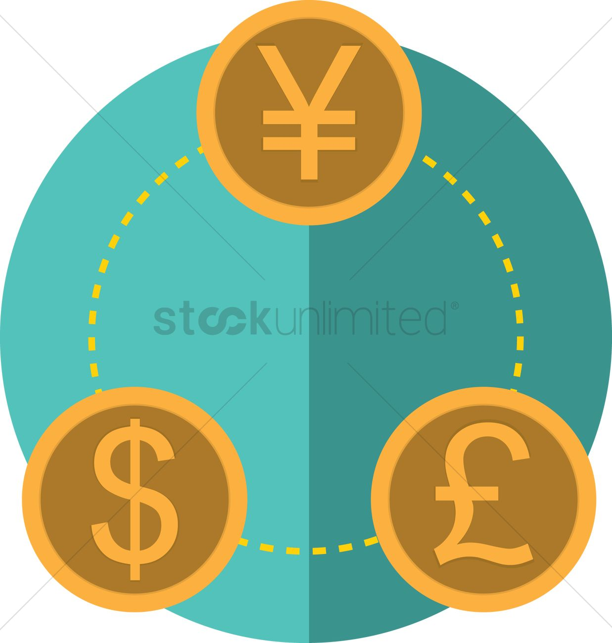 Free World Money Exchange Icon Vector Graphic